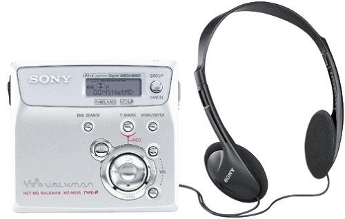Sony MZ-N505S Net MD Walkman Player/Recorder (Silver)