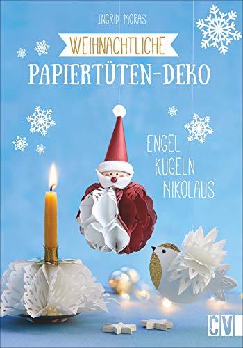 Weihnachtliche Papiertüten-Deko. Engel,...