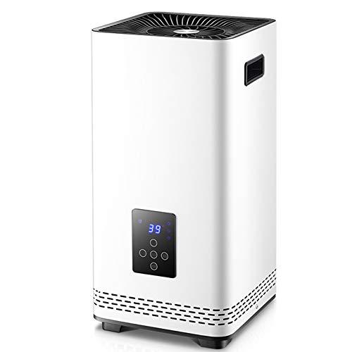 Calefactor Portátil Eléctrico De Ajuste De Tres Velocidades con Mando A Distancia De 6 Metros Temporizador De 12 Horas Control De Temperatura Inteligente para Baño De Dormitorio