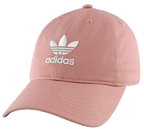 adidas Originals Women\'s Relaxed Adjustable Strapback Cap, Pink Spirit, ONE SIZE