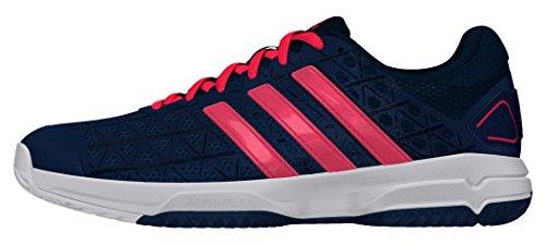 adidas Barricade Club XJ, Zapatillas de Tenis para Niños, Multicolor (Acetec/Rojdes/Ftwbla), 40 EU