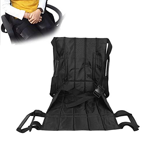 Cinturón de transferencia para silla de ruedas Almohadilla de asistencia de movilidad para elevación de pacientes mayores con correa antideslizante multiusos y diseño de correa de mano de doble capa
