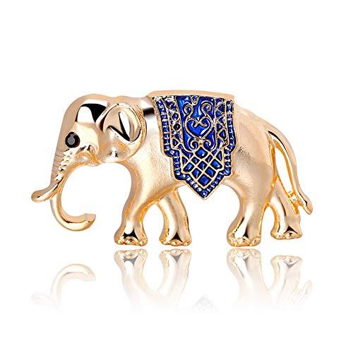 Buty Kristall Elefant Brosche Für Frauen Überziehen Kleidung Dekoration Exotische Brosche Pins Kostüm Zubehör
