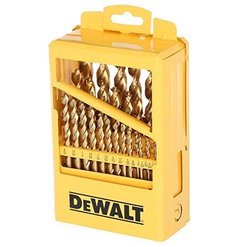 DeWalt DW1969 29-Piece Pilot Point Drill Bit Set Metal Index