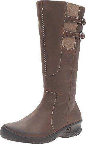 KEEN Womens Bern Baby Bern Casual Boot,Black,5 M US