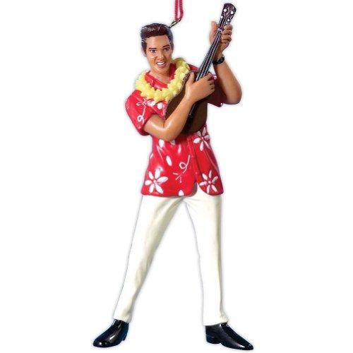 Kurt Adler Elvis in Hawaiian Shirt Ornament