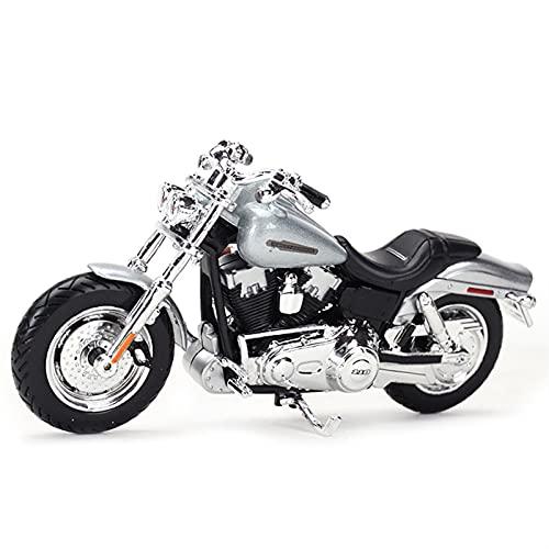 Modelos De Escala De Simulación para Harley Davis 2009 FXDFSE CVO 1:18 Simulación Estática De Fundición A Presión Modelo De Motocicleta Juguete Año Nuevo Cumpleaños