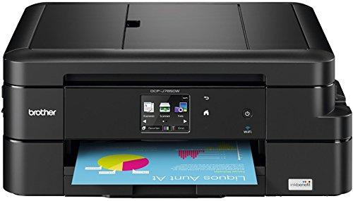 Brother DCPJ785DW 3-in-1 Farbtintenstrahl-Multifunktionsdrucker 6000 x 1200 dpi