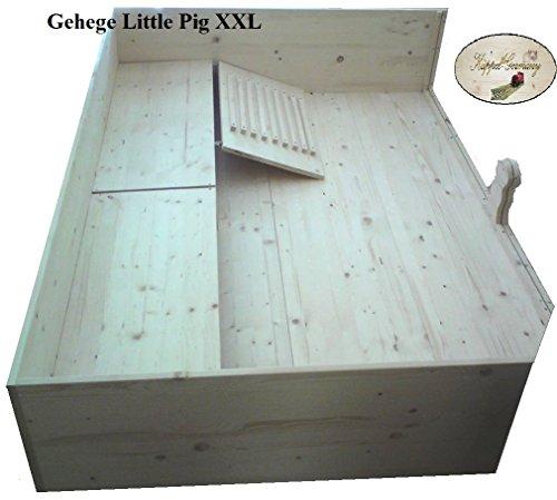 XXXL-Meerschweinchen Gehege «Little Pig» mit Etagen und Rampe