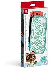 Nintendo Swıtch Taşıma Kılıfı Ve Ekran Koruyucu Animal Crossing Tema