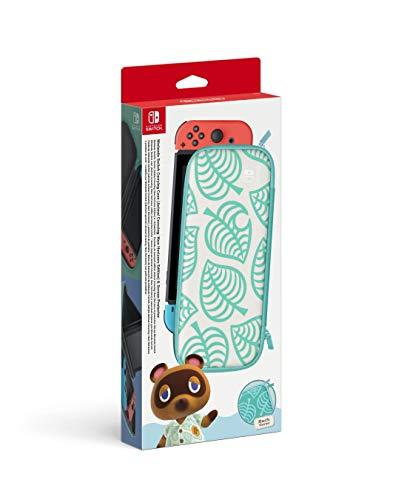 Funda + protector LCD para consola Nintendo Switch edición Animal Crossing: New Horizons (Nintendo Switch)