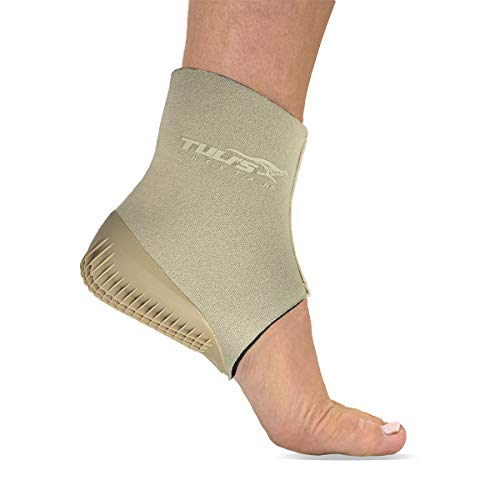 Tuli's Cheetah Gen2 Heel Cup, Foot Protection for Gymnasts and Dancers with Sever's Disease and Heel Pain, Fitted Youth Small