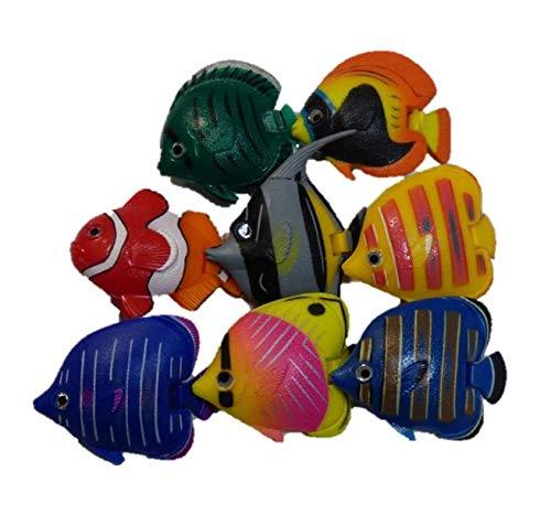 Deko Fische für Wassersäule oder Deko 8er Set