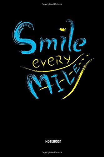 Smile RunnerMarathoner NotebookMarathon Every Notebook JournalDot GridFunny AccessoriesNovelty Marathon Training Marathon Mile m0vON8nw