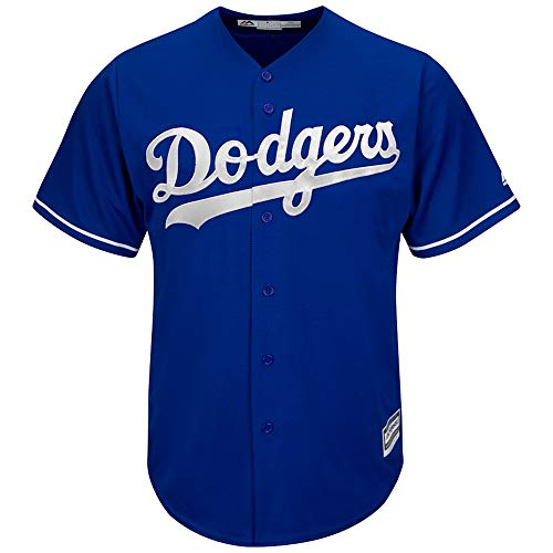 YQSB Jersey Baseball Baseball League Los Angeles Dodgers,Blue,Men-L