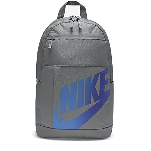Nike Mochila Sportswear Logo Holograma Color Gris Smoke Grey/Smoke Grey
