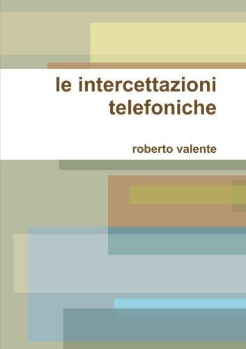 le intercettazioni telefoniche