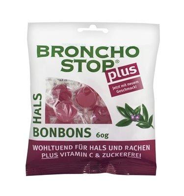 Bronchostop Plus Hals-Bonbons 60g (60 G)