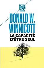 La capacité d'être seul de Donald Winnicott