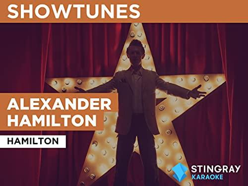Alexander Hamilton in the Style of Hamilton