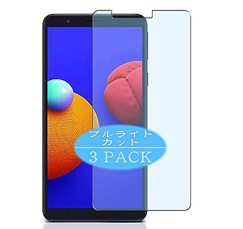 VacFun 3 Piezas Filtro Luz Azul Protector de Pantalla, compatible con SAMSUNG Galaxy A3 Core, Screen Protector Película Protectora(Not Cristal Templado) NEW Version
