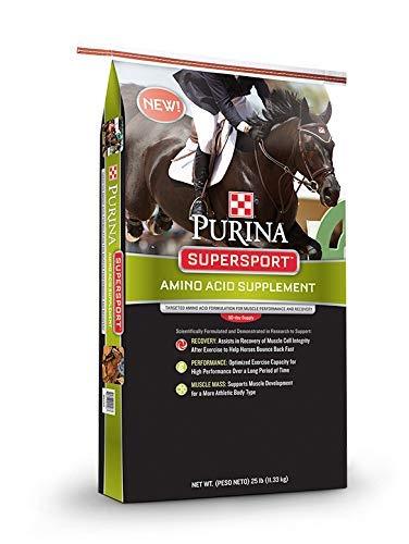 Purina Supersport | Amino Acid Horse Diet Supplement | Grain-Free - 25 Pound (25 lb.) Bag