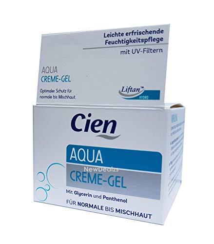 Cien Aqua Cream Gel - with Glycerin and Panthenol - 50 mL