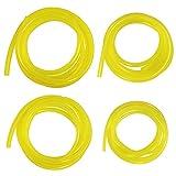 Laixin 4 tamaños Manguera de Combustible Premium Manguera de Combustible [Cada 150cm] Manguera de PVC para Motosierra...