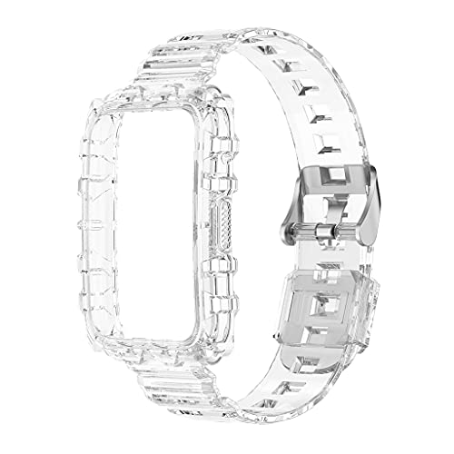 VONGEECorrea de Silicona con Hebilla de Acero de Repuesto para Forerunner 735XT / 220/230/235/620/630 Pulsera de Reloj para Exteriores 1 Pieza - Gris