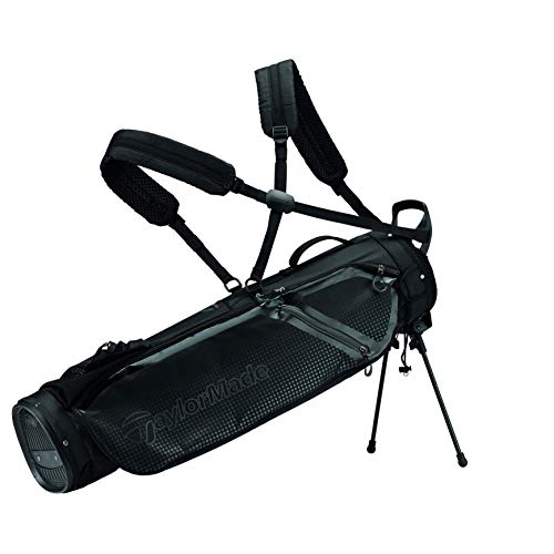 TaylorMade Unisex TM20QuiverBagBlack Standtasche, Schwarz, Einheitsgröße