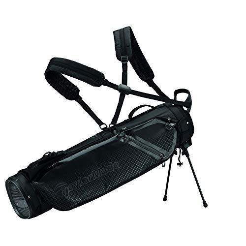 TaylorMade TM20QuiverBagBlack Tasche mit Ständer, Schwarz, Einheitsgröße