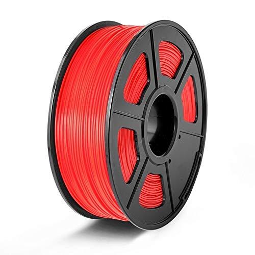 ZHANGDONG Impresora 3D de filamentos de Consumo 1,75 mm de Recarga PLA Serie Fluorescencia Materiales de impresión 3D Pen 1kg Material Alambre de Bricolaje Regalo Precio razonable