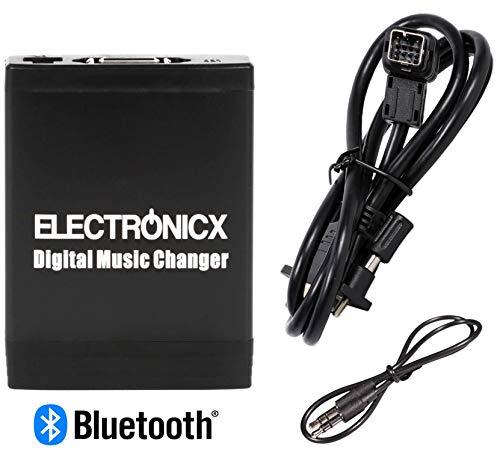 Electronicx Elec-M06-NIS-BT USB, MP3, AUX SD CD Bluetooth Adaptateur pour Suzuki Subaru Buick Chevrolet Mazda et Clarion