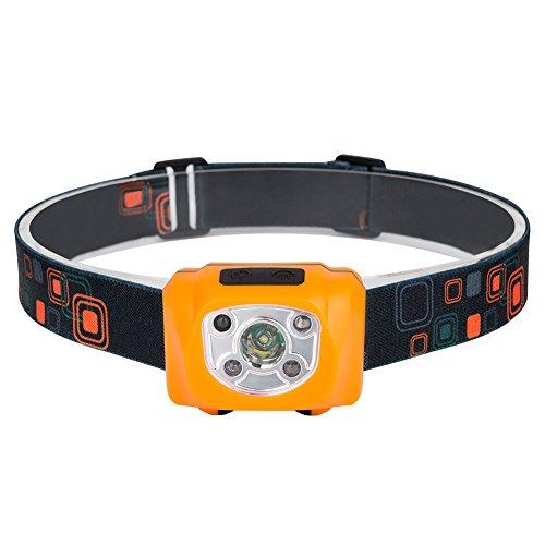 Zreal COB Mini-koplamp met bewegingsmelder, waterdicht, oplaadbare led-koplamp voor vissen, kamperen