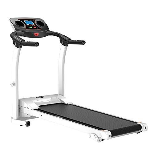 Rueda de Andar Cinta de correr plegable eléctrica fácil de montar fitness caminadora eléctrica for mantenerse sano en Ministerio del Interior Segura y Estable ( Color : Black , Size : 122x60x120cm )