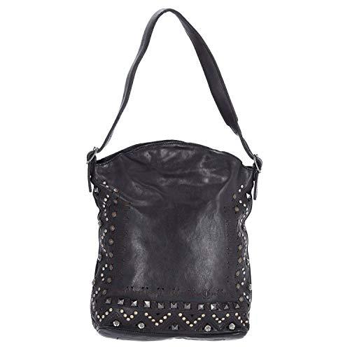 Campomaggi Presefone Hobo Bag 30 cm Black