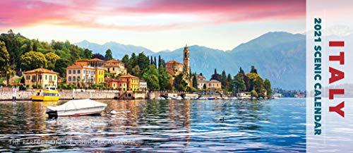 Italy Panoramic 2021 Wall Calendar