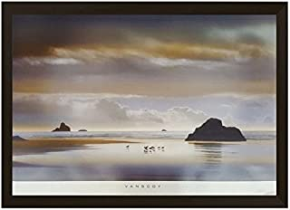 One of Must Know By William Vanscoy 26x36 Fine Art Print (Modern Black Wood Frame - #96404)