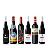 Liebliches Rotwein Probierpaket (5 x 0.75 l, 1 x 1l) 6 Flaschen verschiedene Rotweine für Ihre...