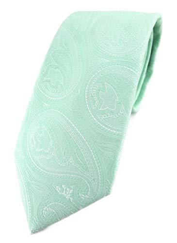 TigerTie corbata de diseño en estampado de cachemir–Corbata corte clásico