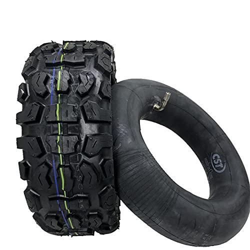 Neumáticos de scooter eléctrico Neumático antideslizante de goma Neumáticos interiores y exteriores inflables todoterreno de montaña de 11 pulgadas Reemplazo de llantas Neumáticos gruesos antidesliz