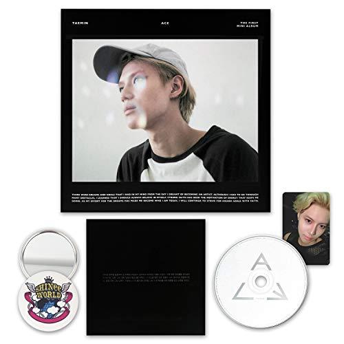 SHINEE TAEMIN 1st Mini Album - ACE [ Black ver. ] CD + Booklet + Photocard + FREE GIFT / K-POP Sealed