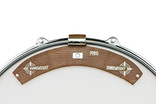 SNAREWEIGHT M80 Walnut Brown Drum Tone Control Damper Dampener, the ORIGINAL, Made in USA