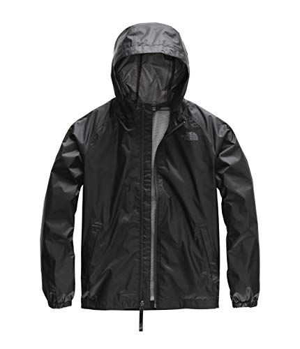 The North Face Boy's Zipline Rain Jacket, TNF Black, Size M