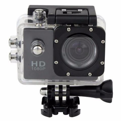 Câmera Filmadora Pro Full 720p Go Sports Pro Bike Moto Mini Dv Aquatica a prova d´agua