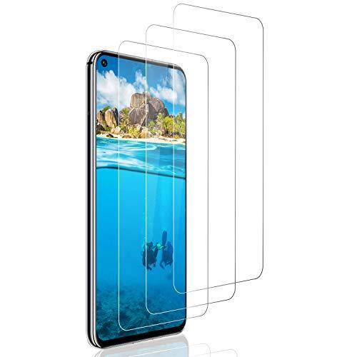 SNUNGPHIR Protector Pantalla paraHuawei Honor 20/Huawei Nova 5T, [3-Pack] Cristal TempladoHuawei Nova 5T, Vidrio Templado con [Alta Definicion] [Anti-Huella] [2.5D Borde Redondo] [Anti-rasguños]