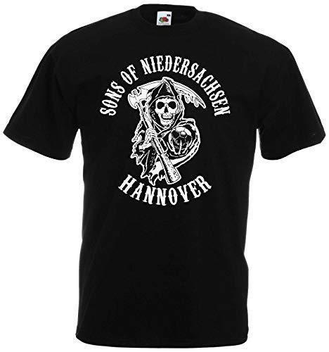 Sons of Niedersachsen Hannover Herren T-Shirt Ultras