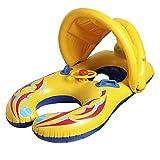 DEEM Anillo de natación inflable para bebé con doble piscina, para padres y niños, con anillo de natación extraíble