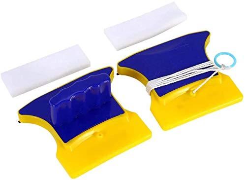 HSJ LF- Limpiador de Ventanas magnéticas de Doble Cara Limpiador de limpiaparabrisas Herramienta de Limpieza de la Superficie de Vidrio útil Limpio