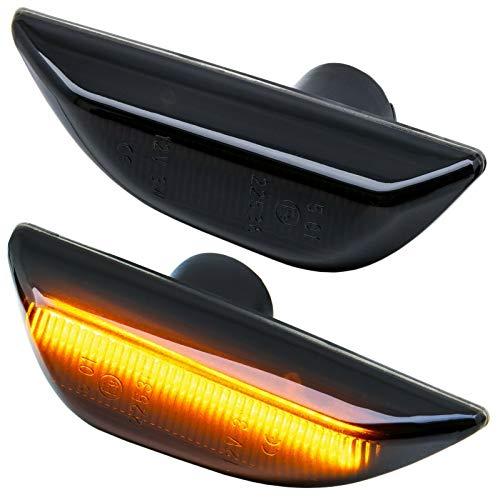 rm-style LED SEITENBLINKER schwarz [71015-1]